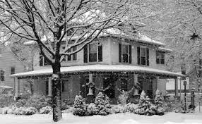 Photo-snow and house